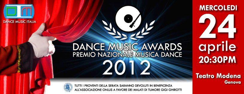 DANCE MUSIC AWARDS 2012